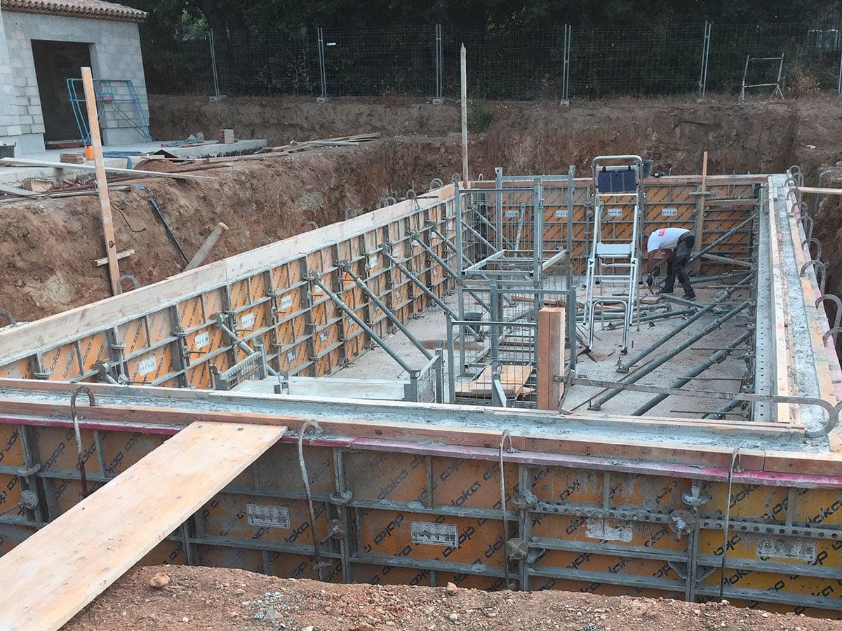 Construction de piscine sur mesure